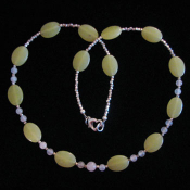 Olive Jade Necklace